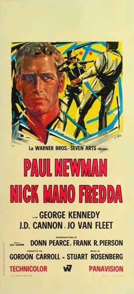 Cool Hand Luke - 11 x 17 Movie Poster - Italian Style E