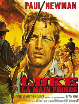 Cool Hand Luke - 27 x 40 Movie Poster - French Style D