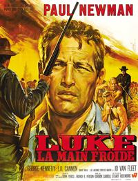 Cool Hand Luke - 43 x 62 Movie Poster - French Style C
