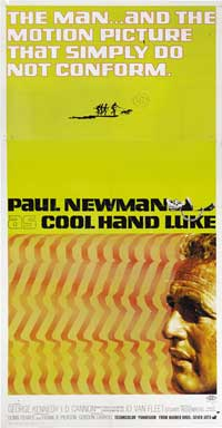 Cool Hand Luke - 41 x 81 3 Sheet Movie Poster - Style A