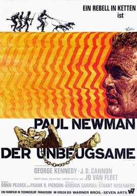 Cool Hand Luke - 27 x 40 Movie Poster - German Style A