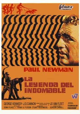 Cool Hand Luke - 11 x 17 Movie Poster - Spanish Style B