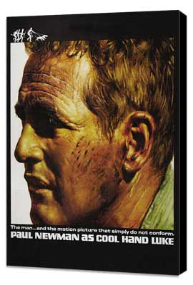Cool Hand Luke - 11 x 17 Movie Poster - Style I - Museum Wrapped Canvas