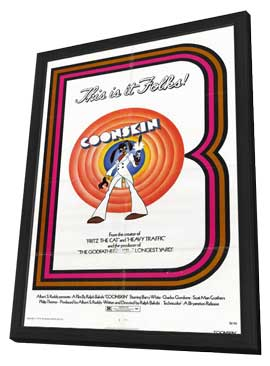 Coonskin - 11 x 17 Movie Poster - Style A - in Deluxe Wood Frame