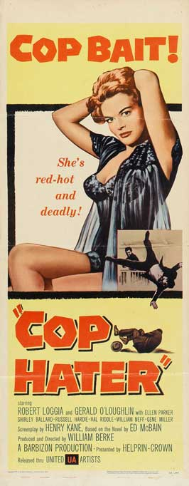 Cop Hater - 14 x 36 Movie Poster - Insert Style A