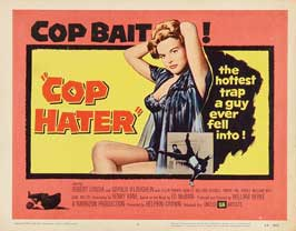 Cop Hater - 22 x 28 Movie Poster - Half Sheet Style A