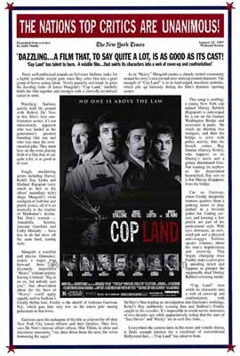 Cop Land - 11 x 17 Movie Poster - Style B
