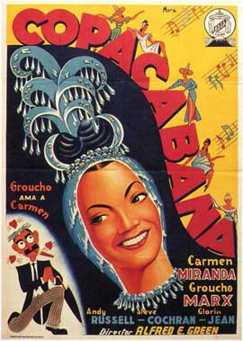 Copacabana - 11 x 17 Movie Poster - Spanish Style A