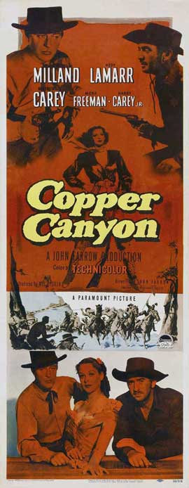 Copper Canyon - 14 x 36 Movie Poster - Insert Style A