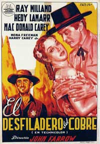 Copper Canyon - 11 x 17 Movie Poster - Spanish Style A