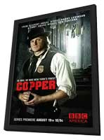 Copper (TV) - 11 x 17 TV Poster - Style B - in Deluxe Wood Frame