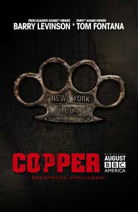 Copper (TV) - 27 x 40 TV Poster - Style A