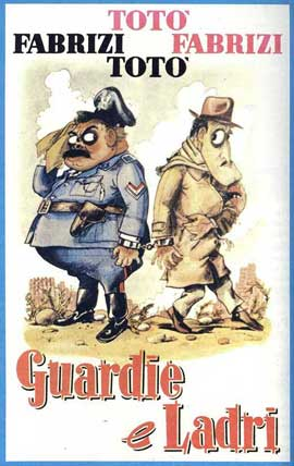 Cops and Robbers - 11 x 17 Movie Poster - Italian Style A