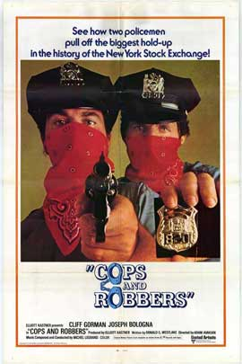 Cops and Robbers - 11 x 17 Movie Poster - Style A