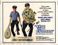 Cops and Robbers - 11 x 14 Movie Poster - Style A