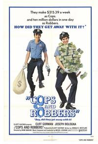 Cops and Robbers - 27 x 40 Movie Poster - Style B