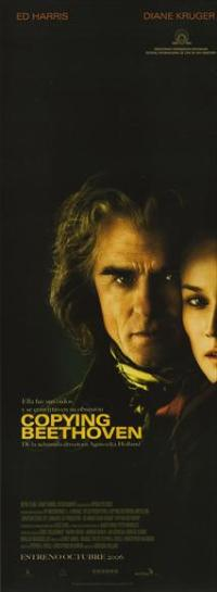 Copying Beethoven - 20 x 60 - Door Movie Poster -Spanish Style A