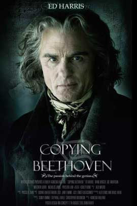 Copying Beethoven - 11 x 17 Movie Poster - Style B