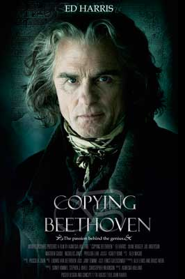 Copying Beethoven - 11 x 17 Movie Poster - Style A