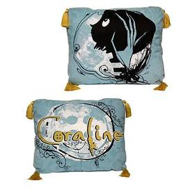 Coraline - Vines Throw Pillow