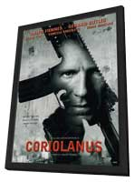 Coriolanus - 27 x 40 Movie Poster - Style A - in Deluxe Wood Frame
