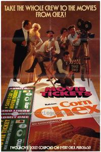 Corn Chex Promotional Poster - 27 x 40 Movie Poster - Style A