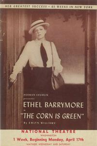 Corn is Green (Broadway) - 11 x 17 Poster - Style A