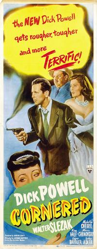 Cornered - 14 x 36 Movie Poster - Insert Style A