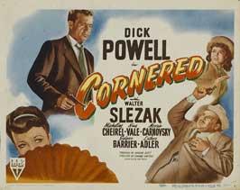 Cornered - 11 x 14 Movie Poster - Style B