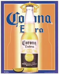 Corona Extra Beer - Party/College Poster - 16 x 20 - Style B