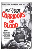 Corridors of Blood - 11 x 17 Movie Poster - Style C