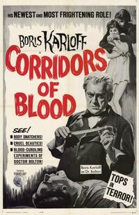 Corridors of Blood - 11 x 17 Movie Poster - Style B