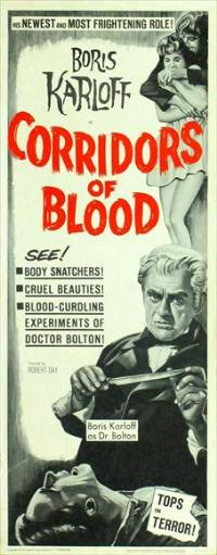 Corridors of Blood - 14 x 36 Movie Poster - Insert Style A