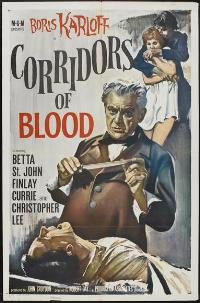 Corridors of Blood - 11 x 17 Movie Poster - Style A