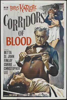 Corridors of Blood - 27 x 40 Movie Poster - Style B