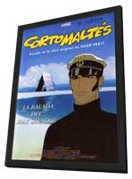 Corto Maltese: La cour secrete des Arcanes - 11 x 17 Movie Poster - Spanish Style A - in Deluxe Wood Frame
