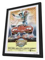Corvette Summer - 11 x 17 Movie Poster - Style C - in Deluxe Wood Frame