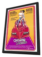 Corvette Summer - 27 x 40 Movie Poster - Style A - in Deluxe Wood Frame