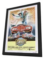 Corvette Summer - 27 x 40 Movie Poster - Style C - in Deluxe Wood Frame