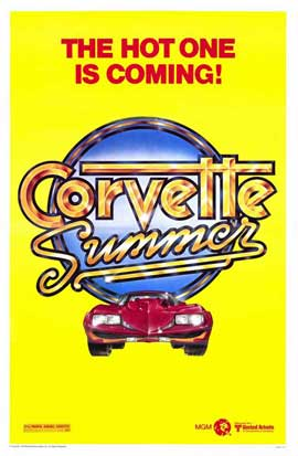Corvette Summer - 11 x 17 Movie Poster - Style A
