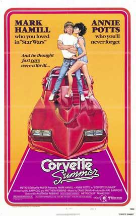 Corvette Summer - 11 x 17 Movie Poster - Style B