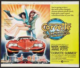 Corvette Summer - 11 x 14 Movie Poster - Style A