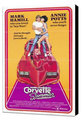 Corvette Summer - 27 x 40 Movie Poster - Style A - Museum Wrapped Canvas