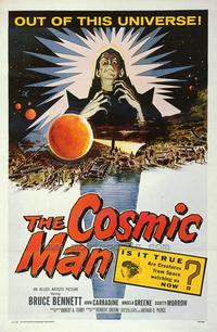 The Cosmic Man - 43 x 62 Movie Poster - Bus Shelter Style A