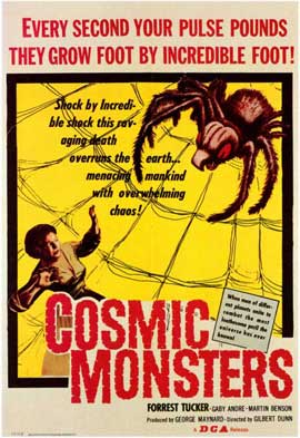 Cosmic Monsters - 11 x 17 Movie Poster - Style A