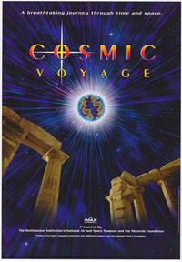 Cosmic Voyage (IMAX) - 43 x 62 Movie Poster - Bus Shelter Style A
