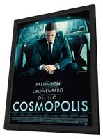 Cosmopolis - 27 x 40 Movie Poster - French Style A - in Deluxe Wood Frame
