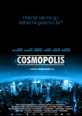 Cosmopolis - 11 x 17 Movie Poster - Style A