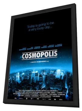 Cosmopolis - 11 x 17 Movie Poster - Style B - in Deluxe Wood Frame