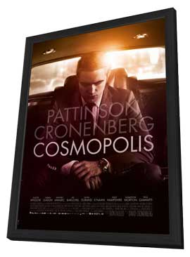 Cosmopolis - 11 x 17 Movie Poster - Style C - in Deluxe Wood Frame